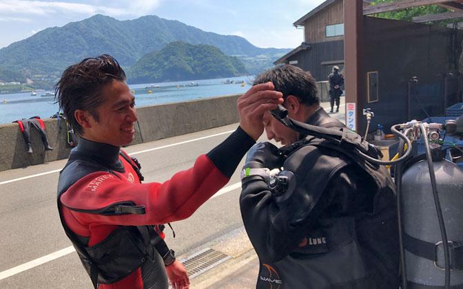 QUESTION #06 ダイビングインストラクターの仕事をしていなかったら何をしていると思いますか?